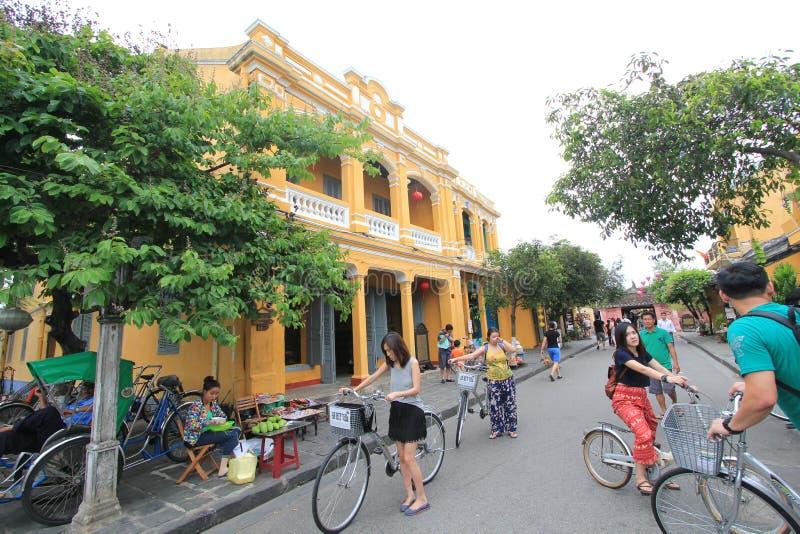 Hoi An Ancient Town i Vietnam royaltyfri fotografi