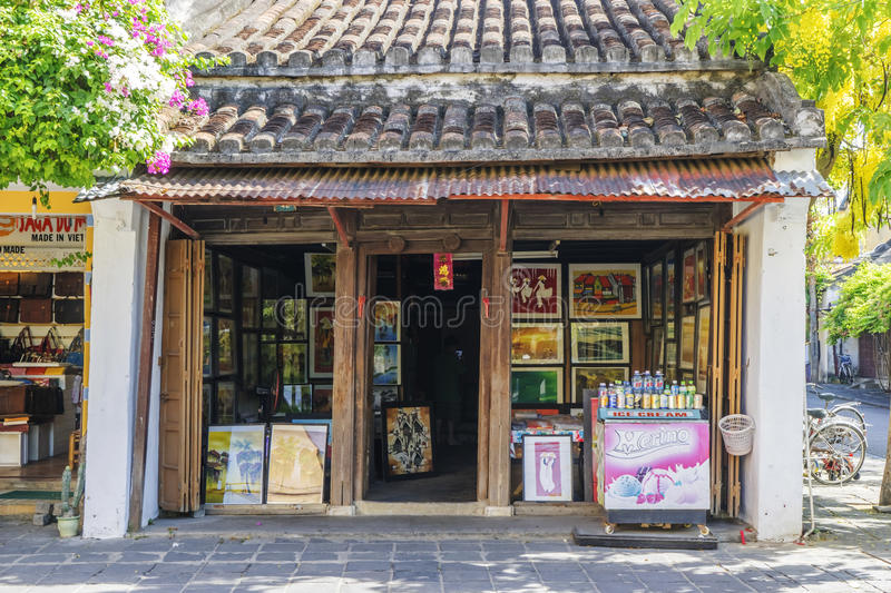 Hoi An Ancient town, Quang Nam province, Vietnam royalty free stock images