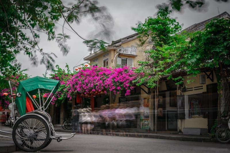 Hoi An forntida stad i Vietnam fotografering för bildbyråer