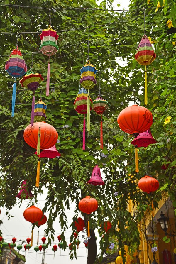 Hoi An Lanterns stock fotografie