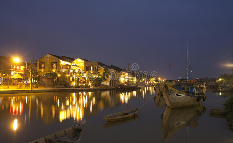 Hoi An At Night Royalty Free Stock Images