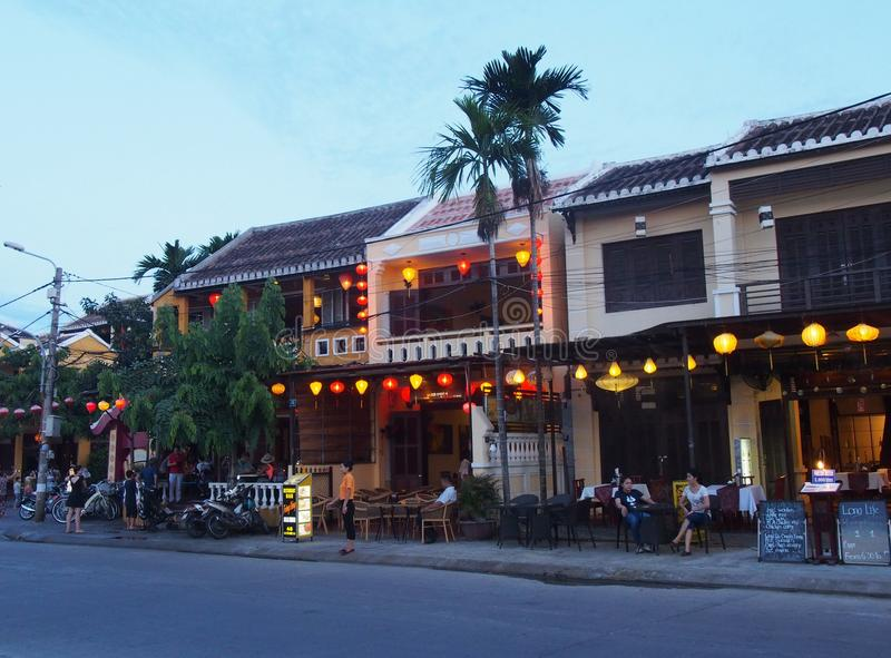 Hoi An Old Town nel Vietnam fotografie stock libere da diritti