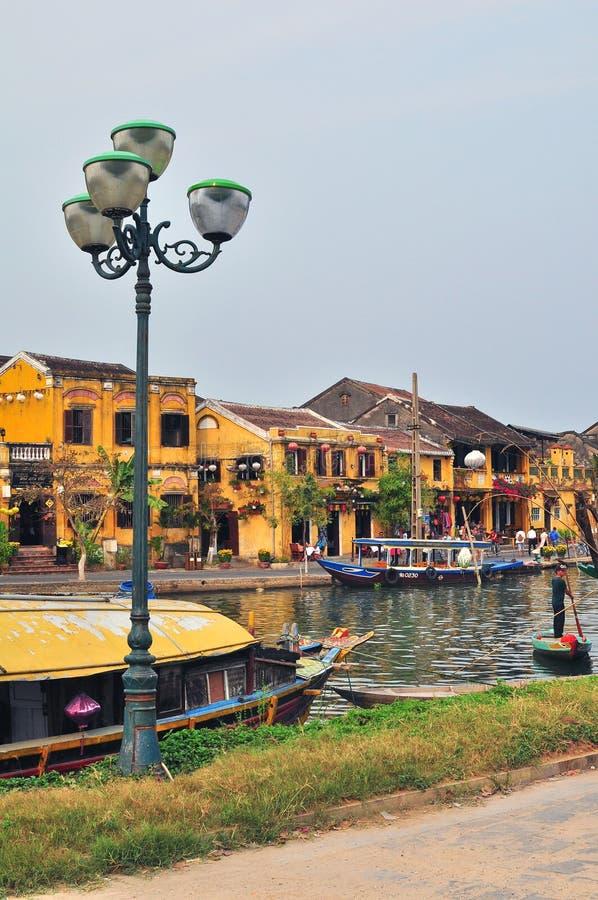Hoi An old town, Vietnam stock image