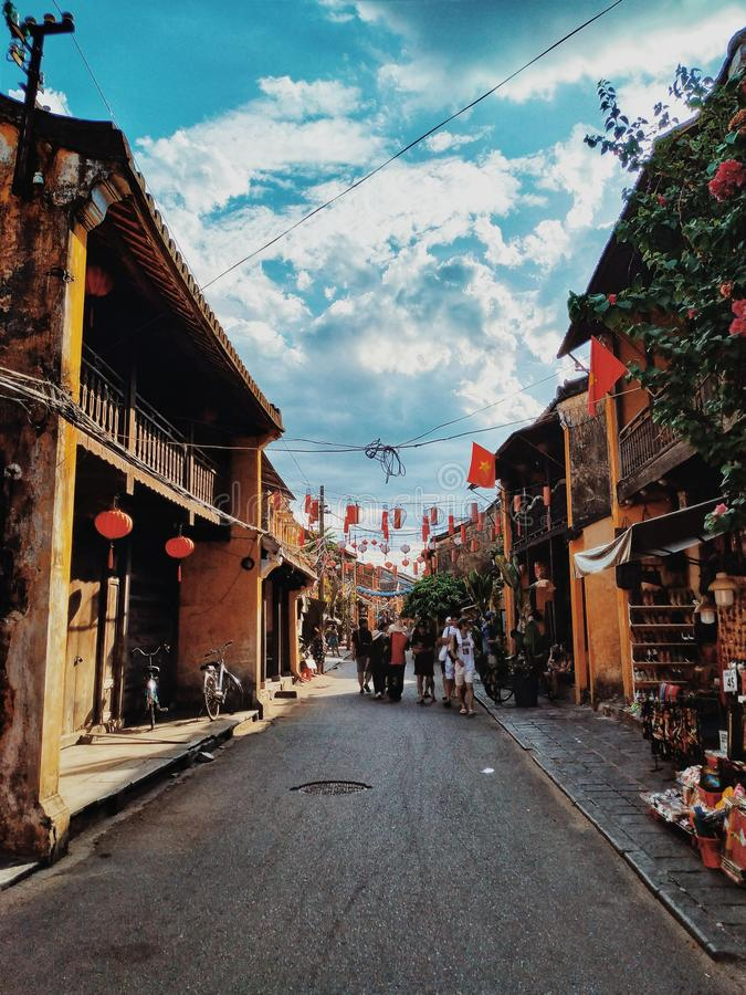 Hoi An Town - VietNam royalty free stock image