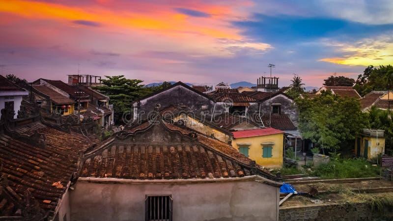 Hoi An um lugar em Vietname imagens de stock