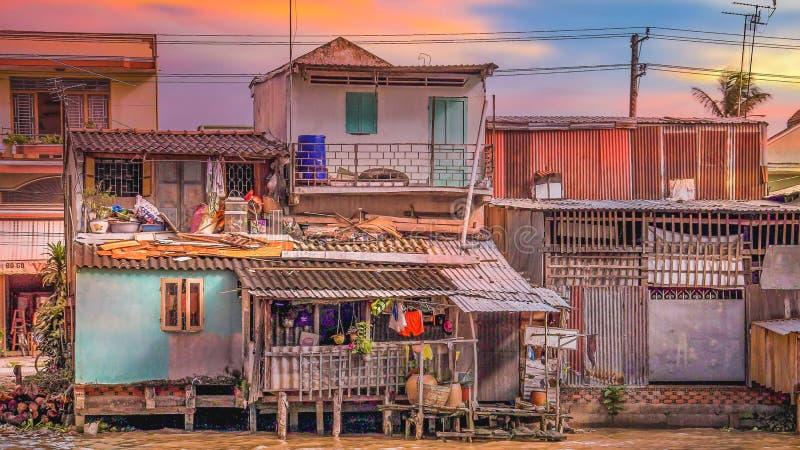 Hoi An um lugar em Vietname fotos de stock royalty free