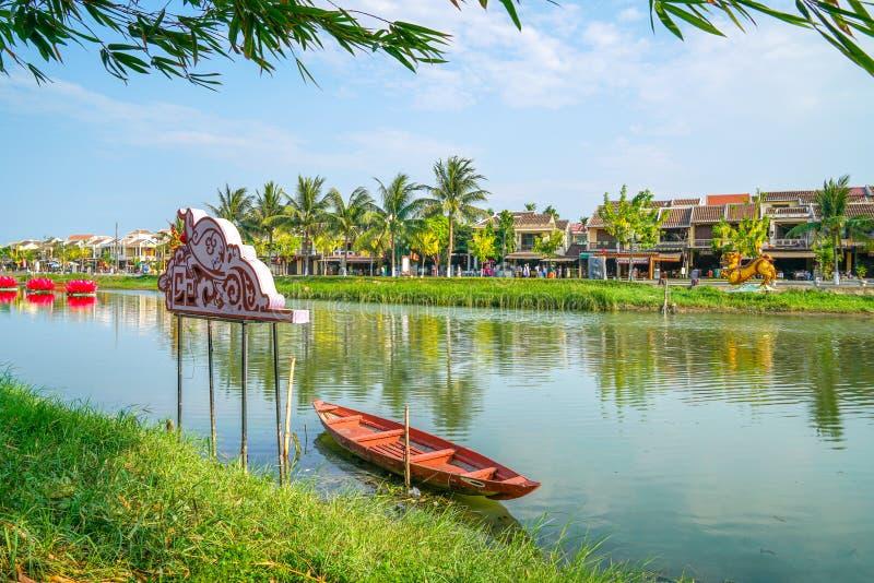 Hoi una città antica, Vietnam fotografie stock libere da diritti