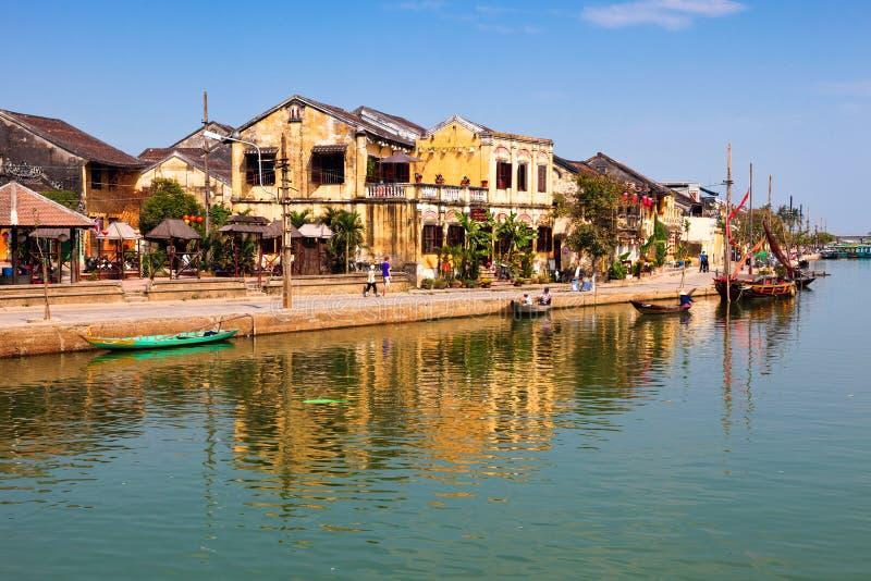Hoi, Vietnam stock afbeelding