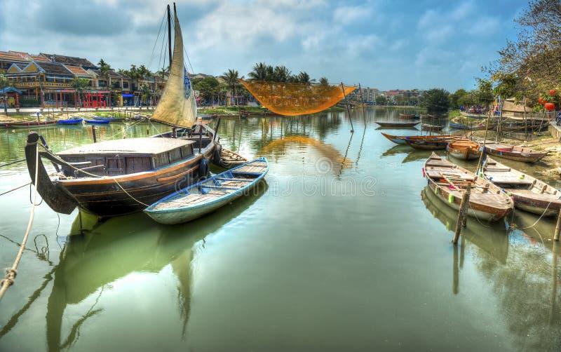 Hoi An Vietnam royaltyfri foto