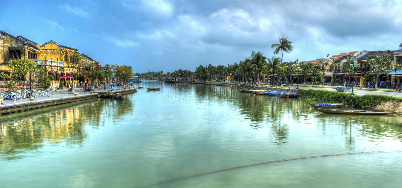 Hoi An Vietnam fotografia de stock