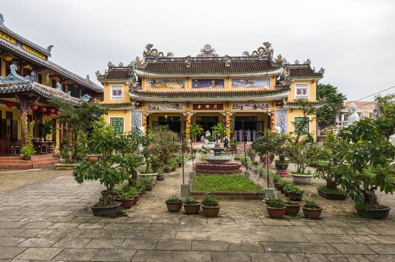 Hoi An, Vietnam - 7 janvier 2015 : Temple bouddhiste de Chua Phap Bao photo libre de droits