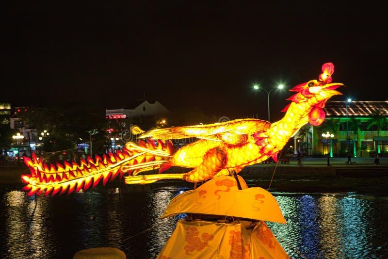 HOI, VIETNAM - 17 MARZO 2017: Il deposito tradizionale delle lanterne in Hoi An, Vietnam, Hoi una città antica è riconosciuto immagini stock