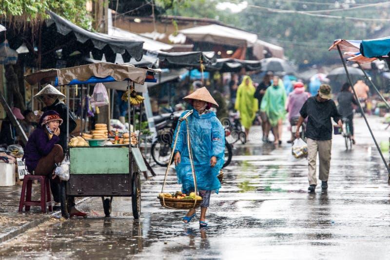 Hoi An - ville traditionnelle au Vietnam image stock