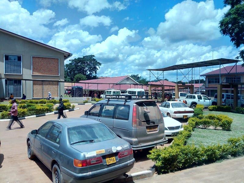 Hoima regionalt remisssjukhus, Uganda royaltyfri foto