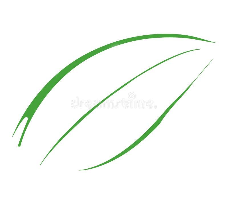 Hoja 4 ilustración del vector