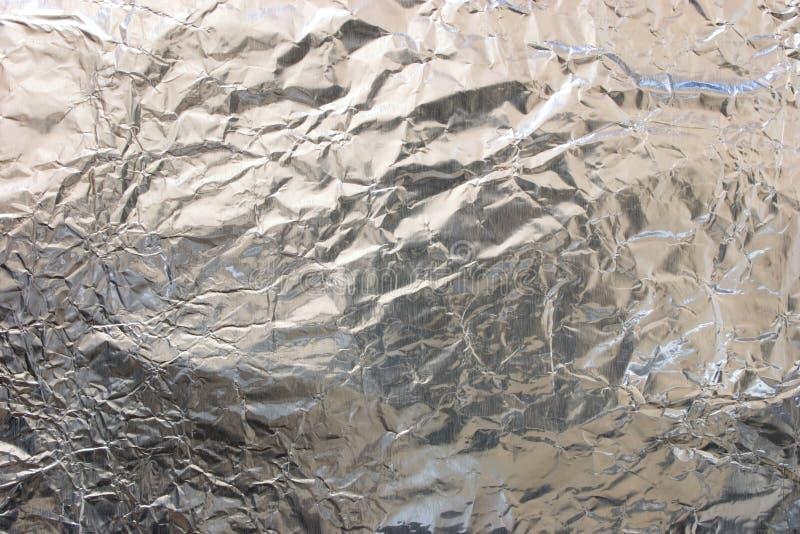 Hoja de aluminio imagen de archivo
