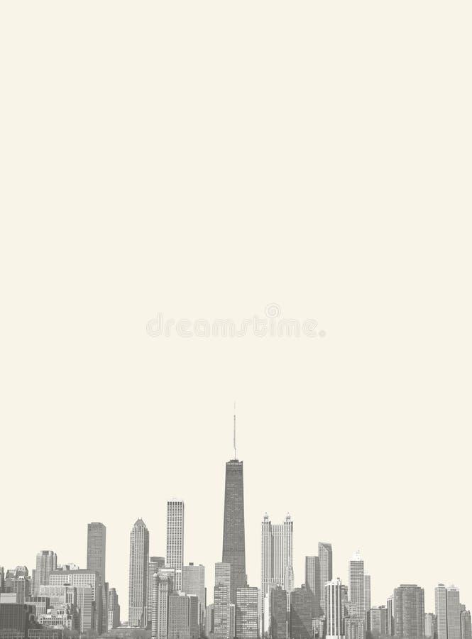 Hoja de Chicago imagenes de archivo