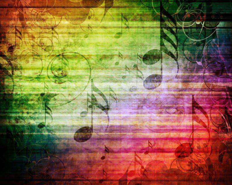 Hoja de música vieja fotografía de archivo libre de regalías