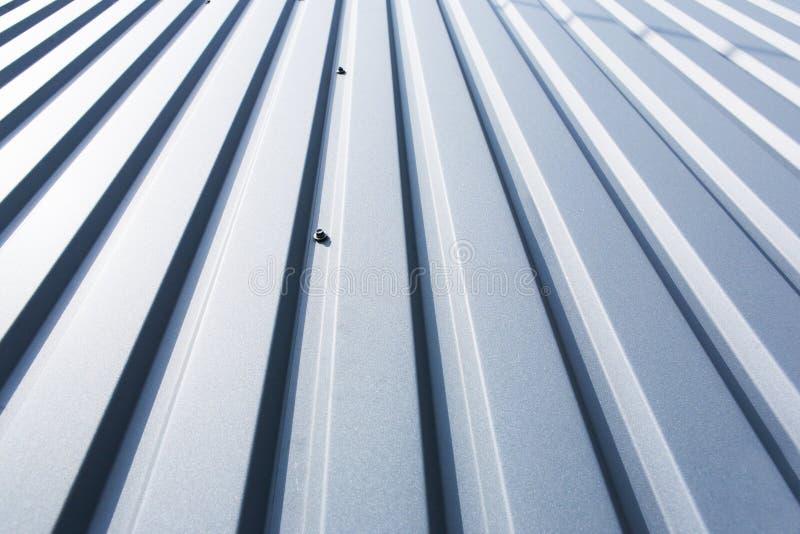 Hoja de metal del tejado foto de archivo libre de regalías