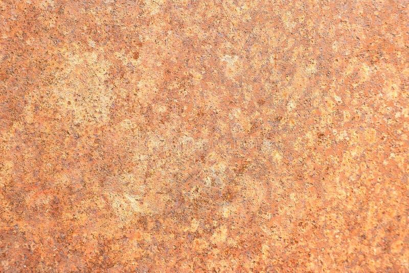 Hoja de metal oxidada, viejo uso de la textura del metal del grunge para el fondo, textura industrial para el fondo abstracto Moh fotografía de archivo libre de regalías