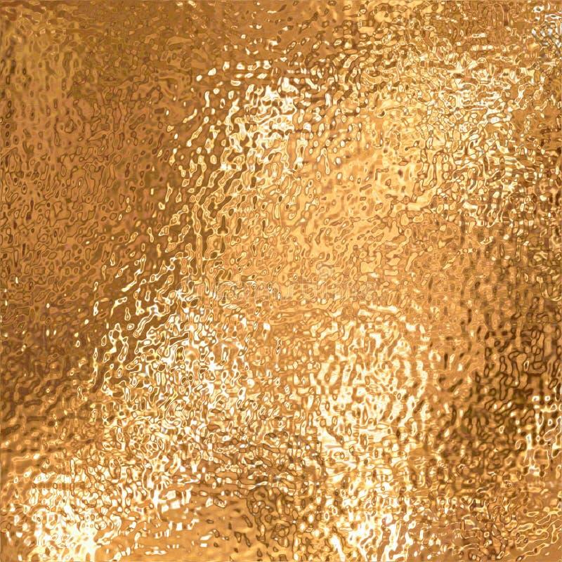 Hoja de oro ilustración del vector
