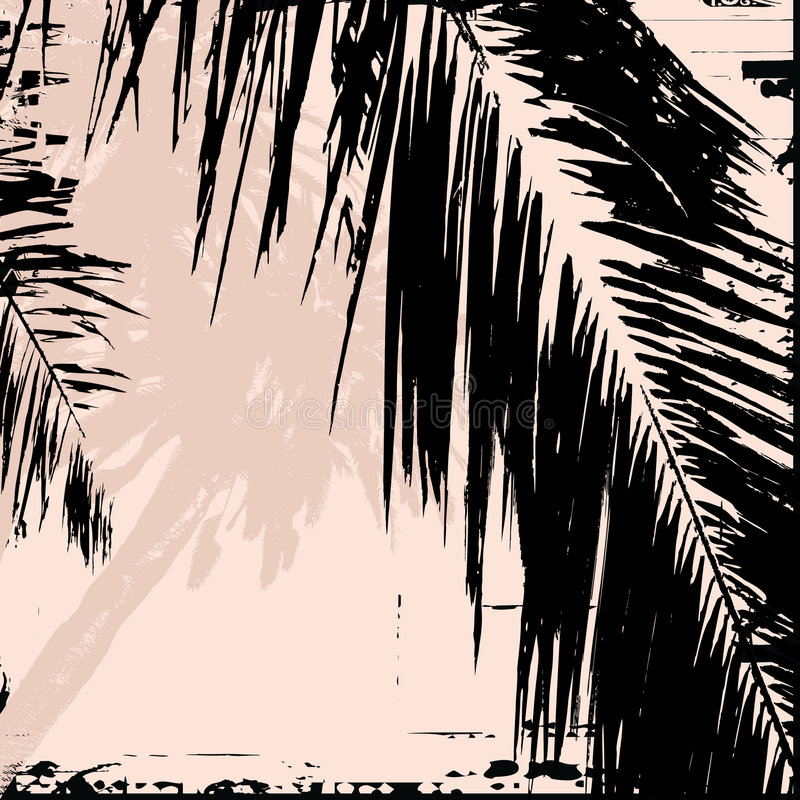 Hoja de palma libre illustration