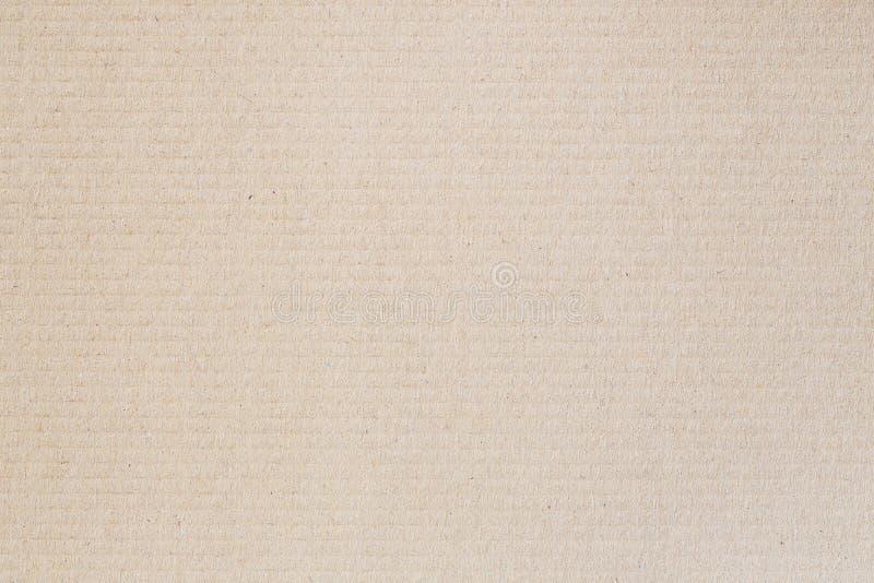 Hoja de papel de la cartulina de Brown, fondo abstracto de la textura foto de archivo
