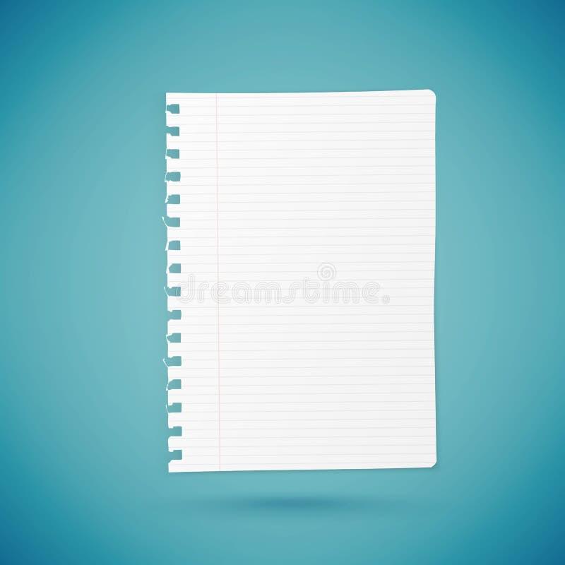Hoja de papel vacía libre illustration