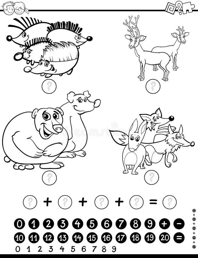 Lujo Hojas De Trabajo De Matemáticas Animales Galería - hojas de ...