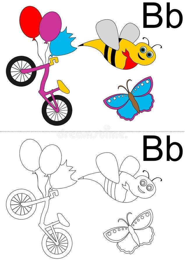 Hoja De Trabajo Del Alfabeto Ilustración del Vector - Ilustración de ...