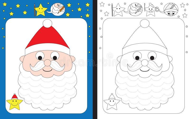 Hoja de trabajo preescolar libre illustration