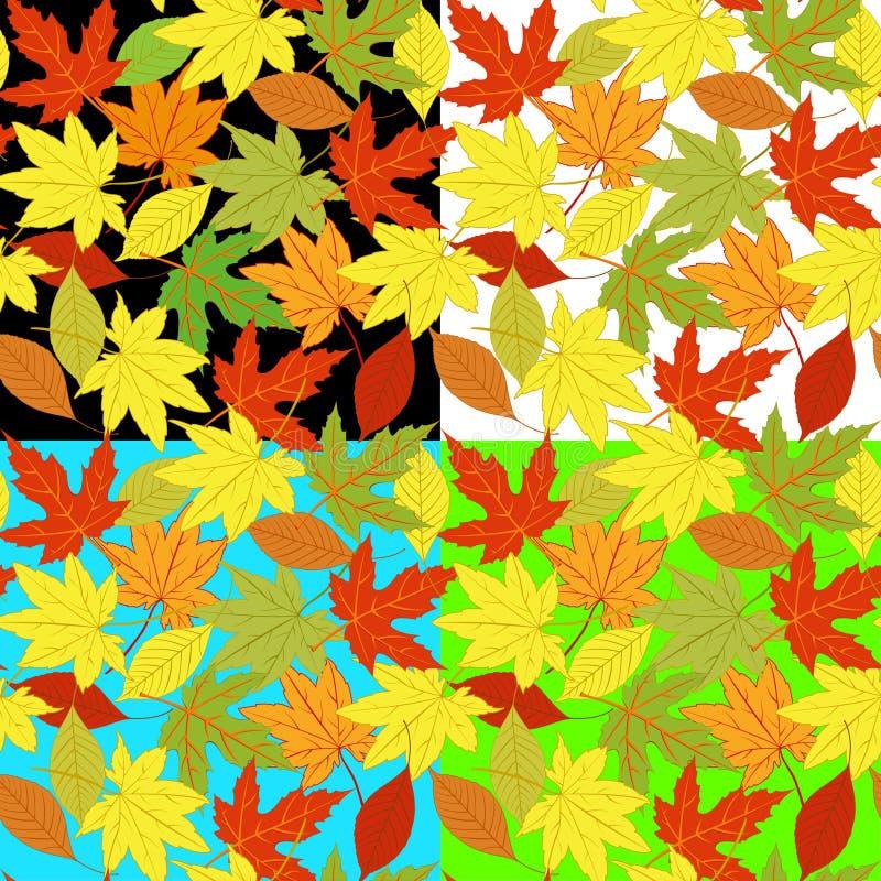 Hoja del otoño stock de ilustración