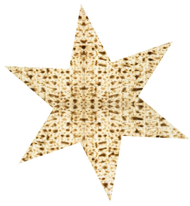 Hoja judía tradicional de Matzoth para la pascua judía Seder imagen de archivo