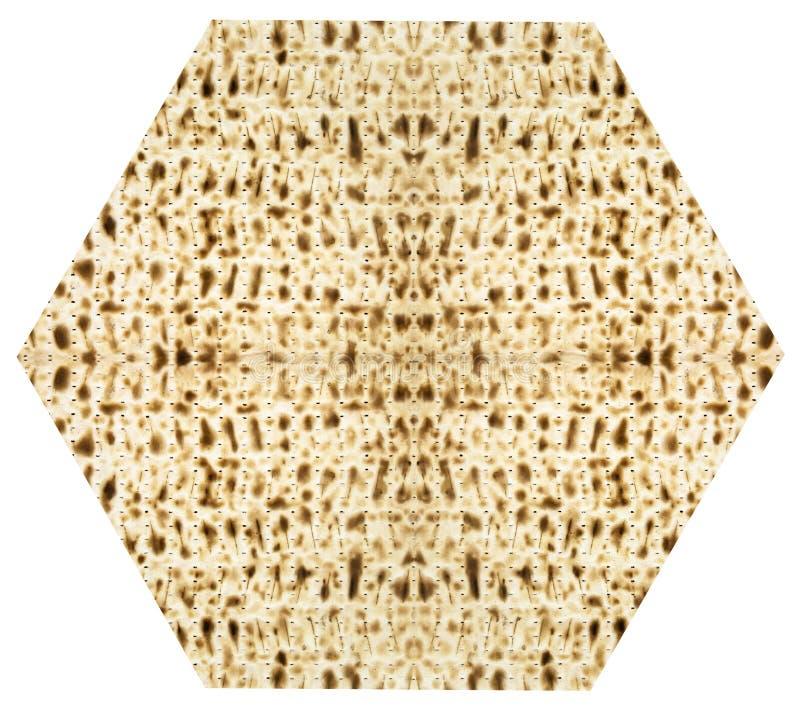 Hoja judía tradicional de Matzoth para la pascua judía Seder fotografía de archivo libre de regalías