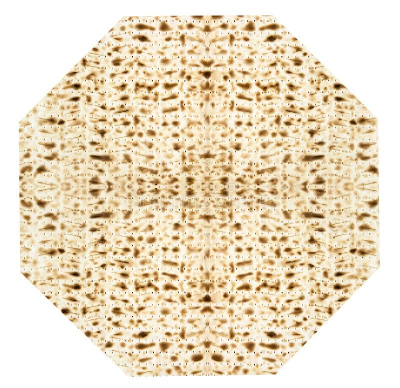 Hoja judía tradicional de Matzoth para la pascua judía Seder foto de archivo