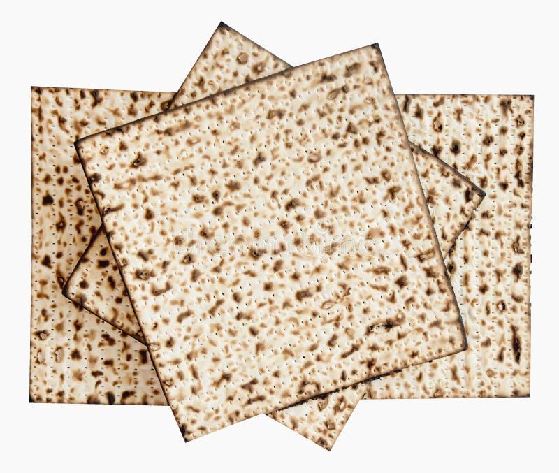 Hoja judía tradicional de Matzoth para la pascua judía Seder imágenes de archivo libres de regalías