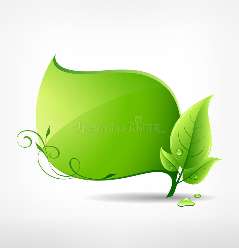 Hoja verde.   libre illustration