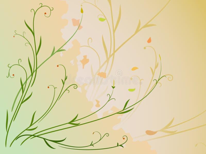 Hoja y vástago con la baya libre illustration