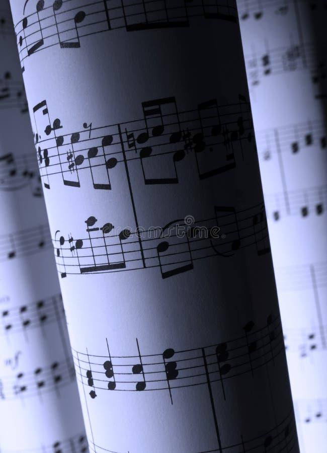 Download Hojas de música foto de archivo. Imagen de papel, cuenta - 44850086