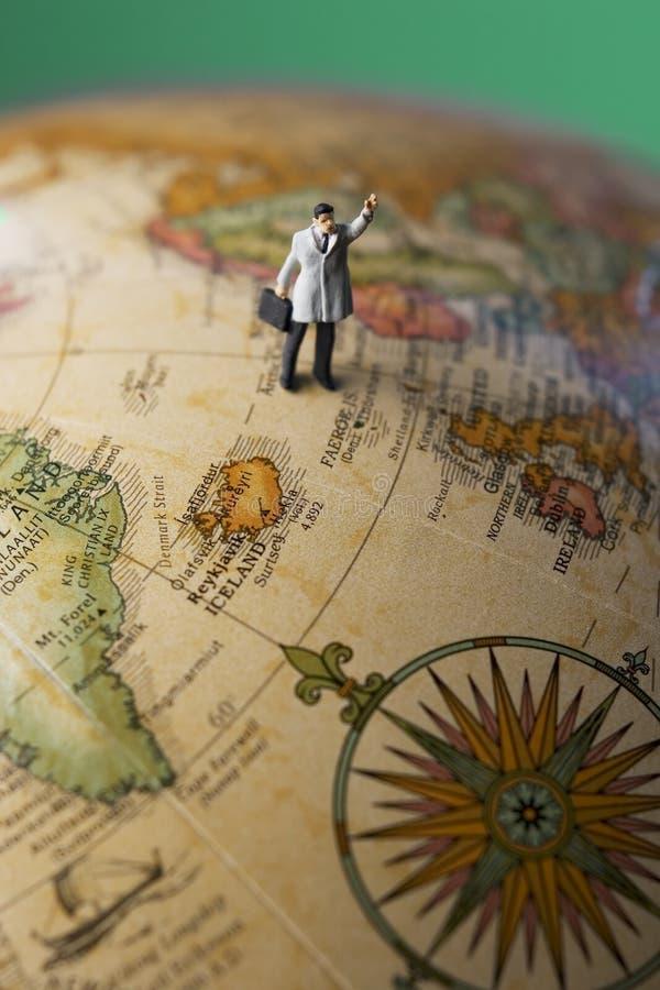 Hojas de ruta (traveler) de asunto imágenes de archivo libres de regalías