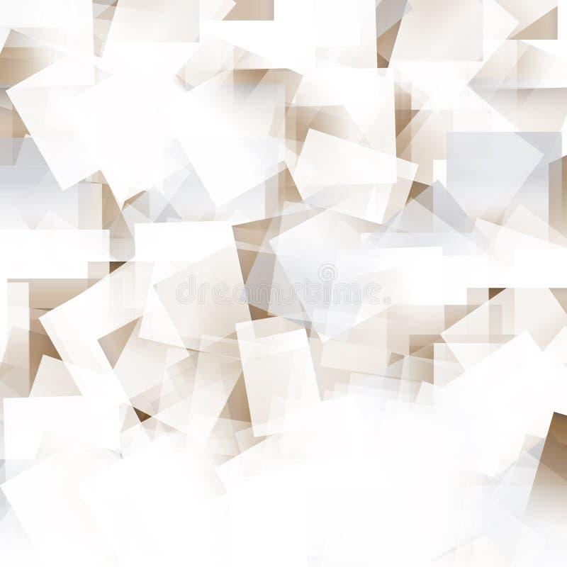 hojas del extracto del modelo del fondo con brillo ilustración del vector