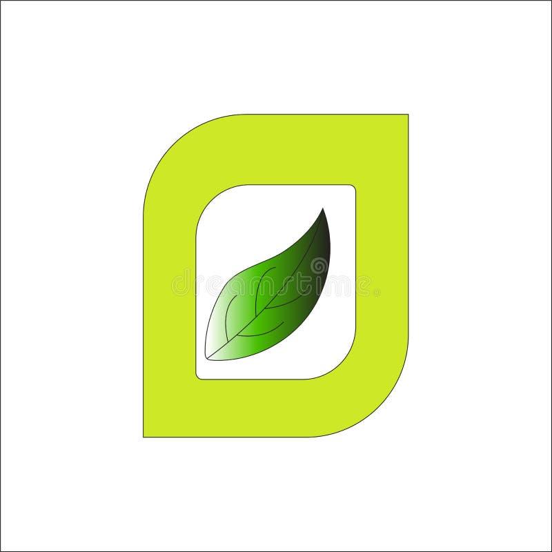 hojas del verde En stock de ilustración