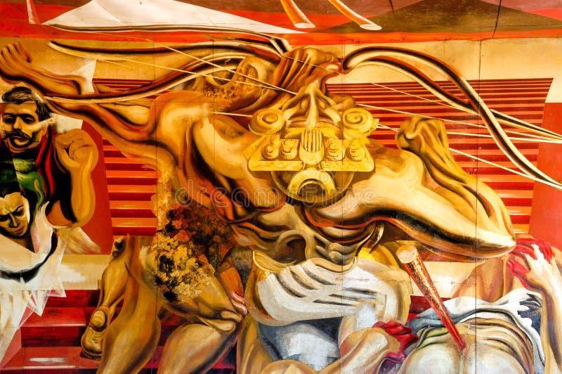 Pinturas murais da parede foto de stock royalty free
