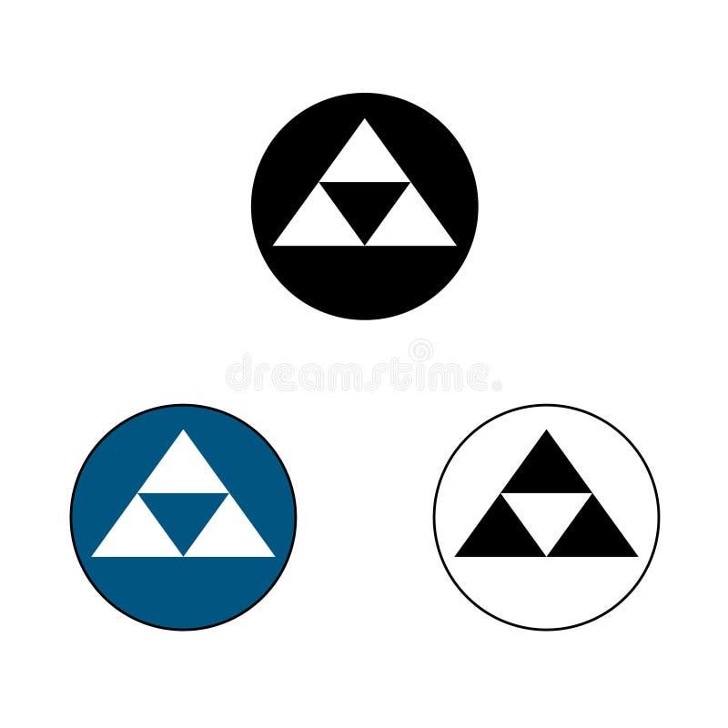 Hojo Samurai Crest stockbilder