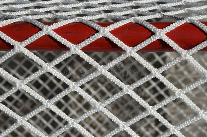 hokej bramkowa sieci szczególne zdjęcie stock
