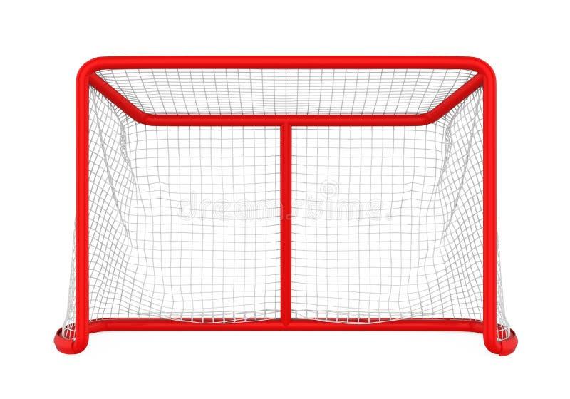 Hokej bramy Odizolowywać ilustracja wektor