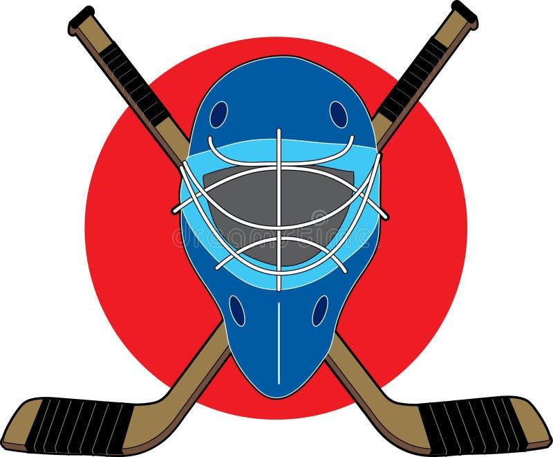 hokej maska royalty ilustracja