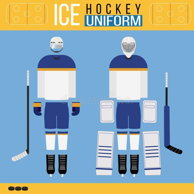 Hokeja akcesoryjny i ilustracja wektor