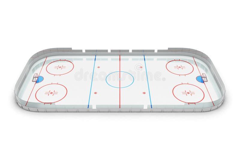 Hokejowa arena ilustracji