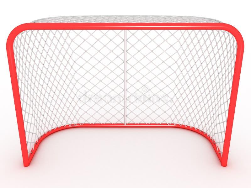 Hokejowa brama. -1 royalty ilustracja